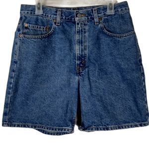 34 Levi's 550 relaxed Fit high waist denim shorts